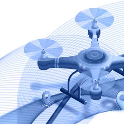 Drones are capable to capture your communications!